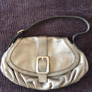 Cole Hana Silver Shoulder Bag Like NEW